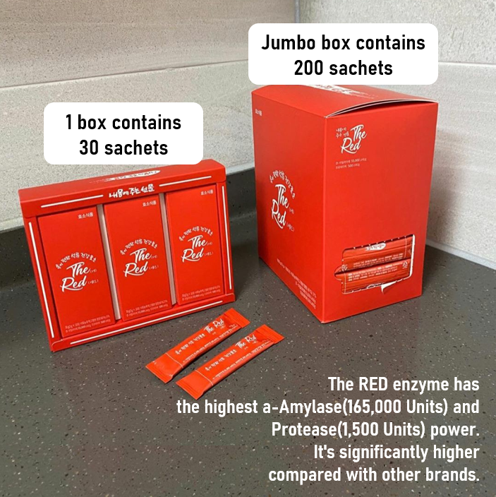 [SOLDOUT] THE RED - #1 Real enzyme