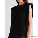 [PRE-ORDER 10%] SHOULDER PAD T-SHIRT - LADY
