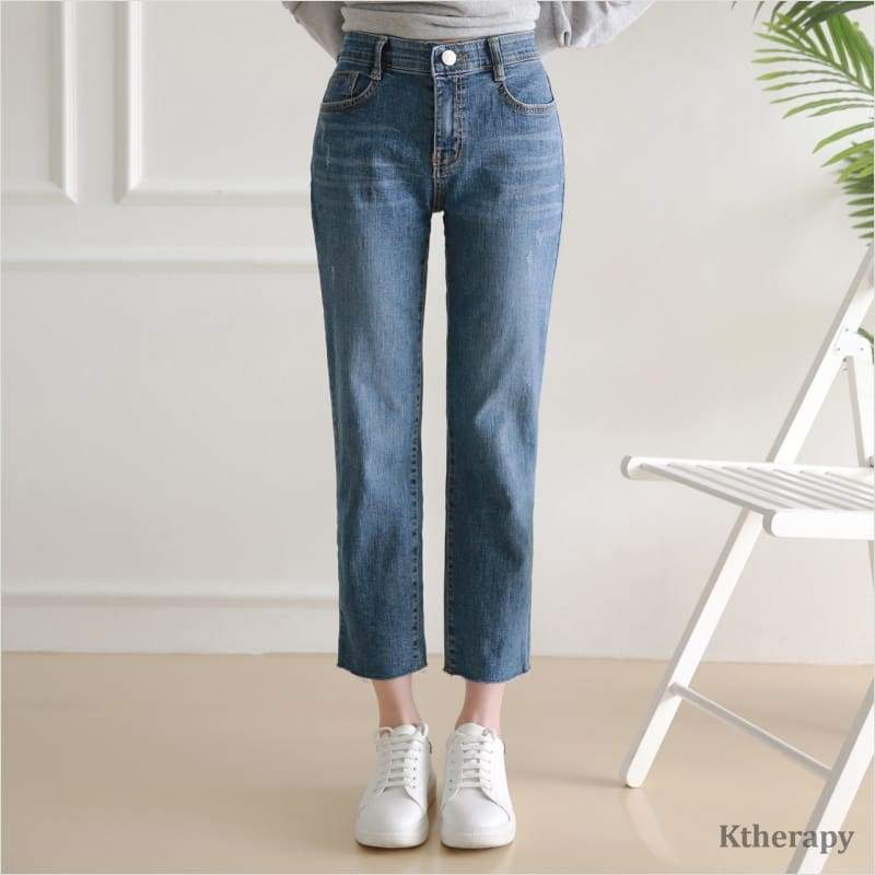 [2nd RESTOCK] STRAIGHT CUT LIFETIME DENIM - K therapy