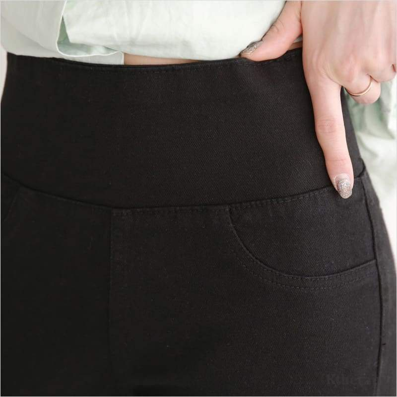 [2nd RESTOCK] CORSET COTTON TUMMY BANDING PANTS - K therapy