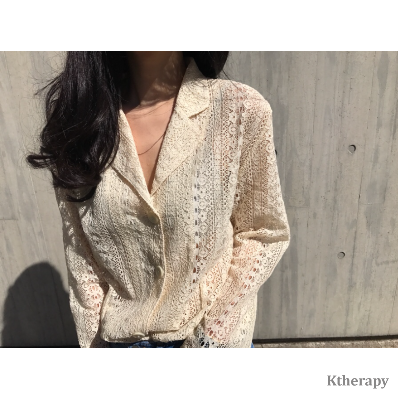 [4th RESTOCK] JASMINE LACY JACKET - K therapy