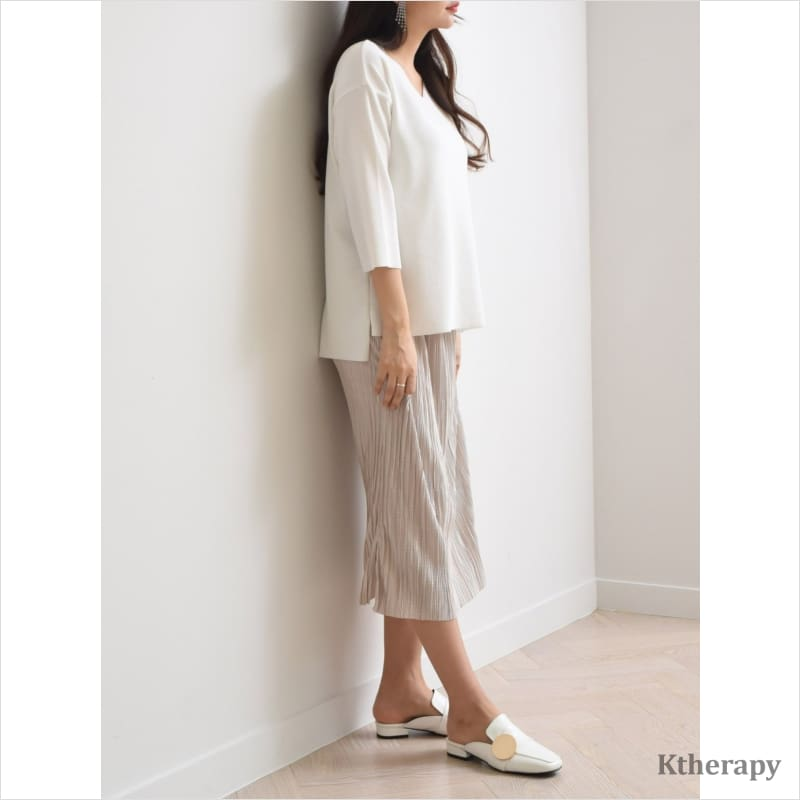 [5th RESTOCK] GLORIA PLEATED SKIRT - K therapy