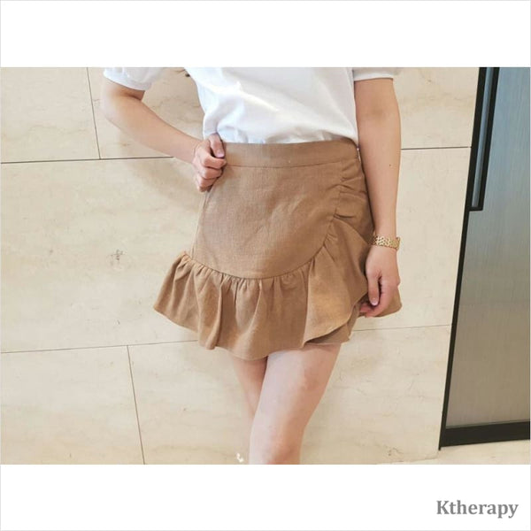 ABIGAIL LINEN SKORTS - K therapy