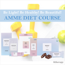 [5th BACKORDER] AMME DIET COURSE (UPGRADED) -Be Light Be Beautiful! - K therapy