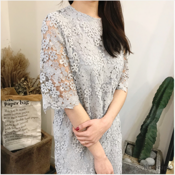 ANTOINETTE LACE DRESS - LADY