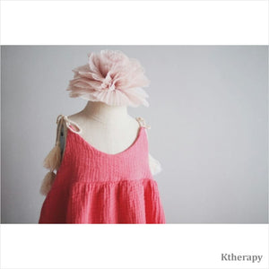 BEGONIA DRESS - PINK - BOY & GIRL