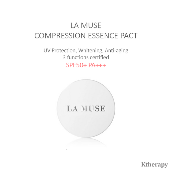 COMPRESSION ESSENCE PACT - New generation of cushion - K therapy