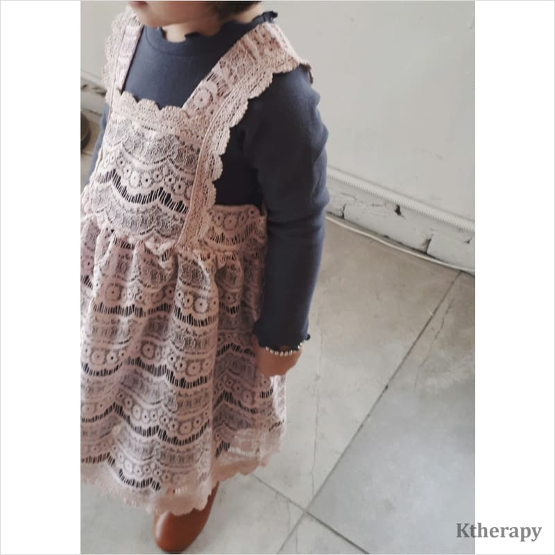 CUPCAKE LACE DRESS - K therapy