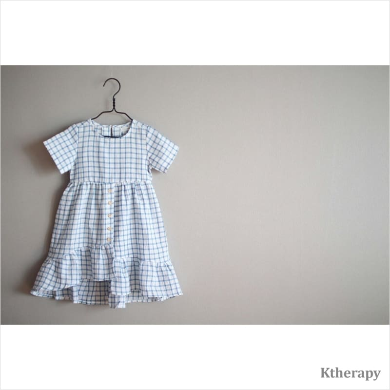 DEAR TWINNING DRESS - BLUE - K therapy