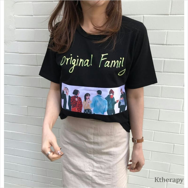 FAMILY T-SHIRT - LADY