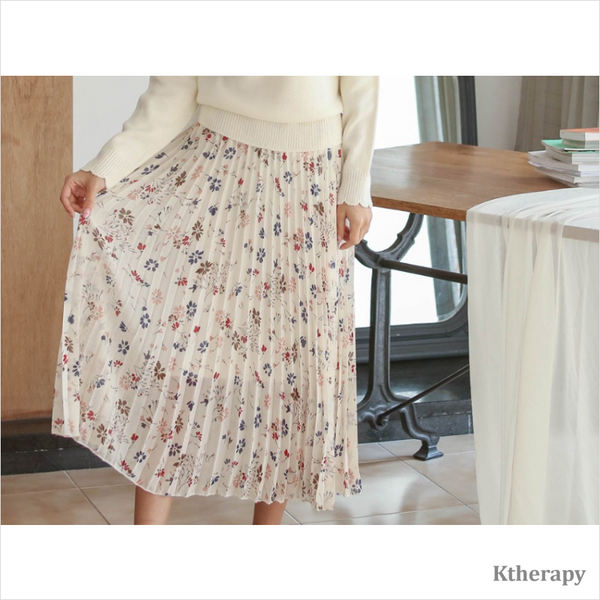 FIORELLA PLEATED SKIRT - K therapy