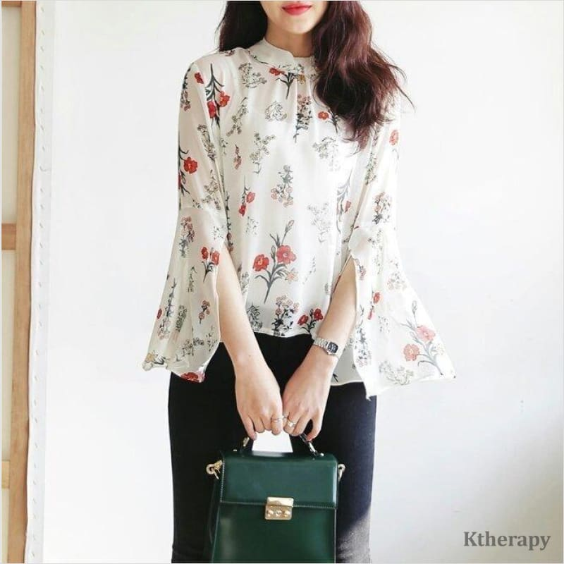 FLOURISH BLOUSE - K therapy
