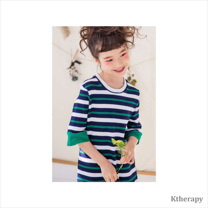 GOLGI STRIPED TWINNING SET - K therapy