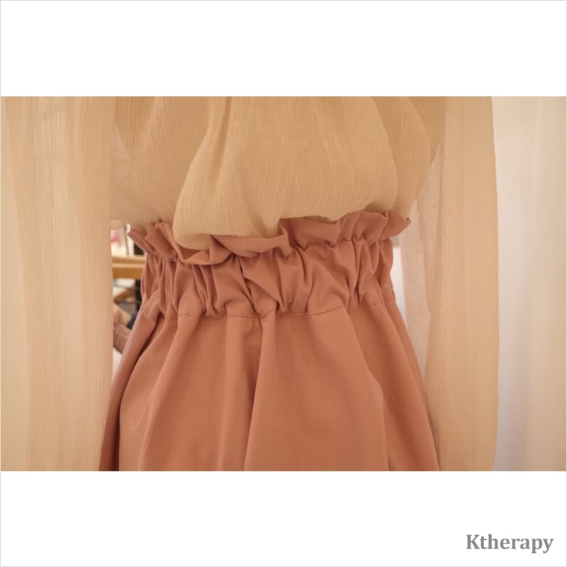 HALEY EYELET SKIRT - K therapy