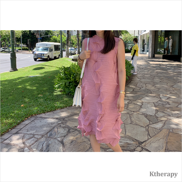 ISSEY PLEATED DRESS - K therapy