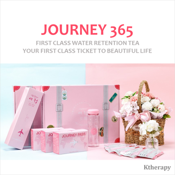 JOURNEY365 - First class water retention tea - BEAUTY