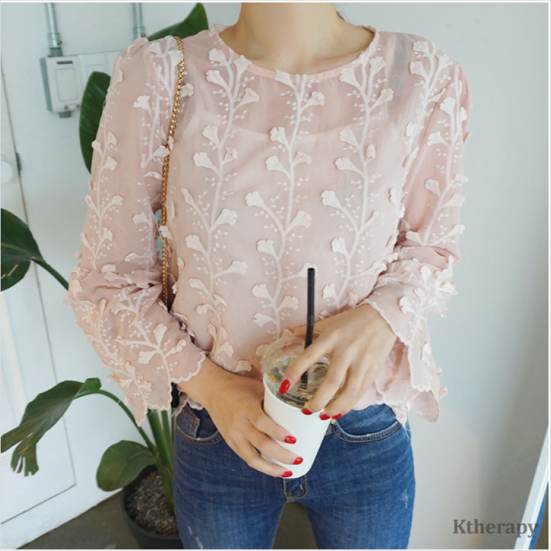 LEAF FLORA BLOUSE - K therapy