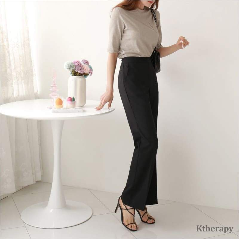[PRE-ORDER 10%] LONG LEGS BANDING SLACKS - LADY