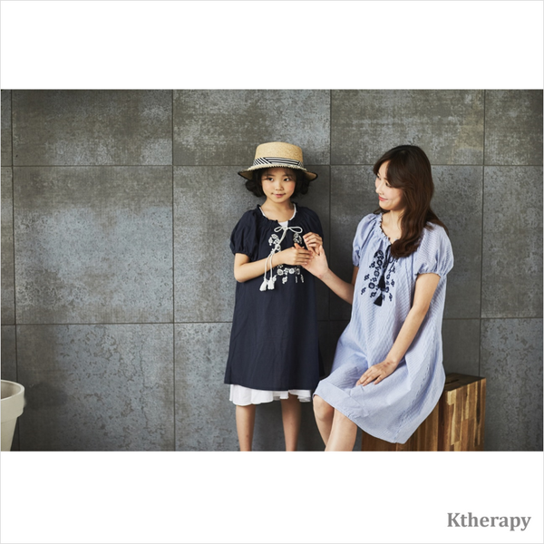 LISA EMBROIDERY TWINNING DRESS - K therapy