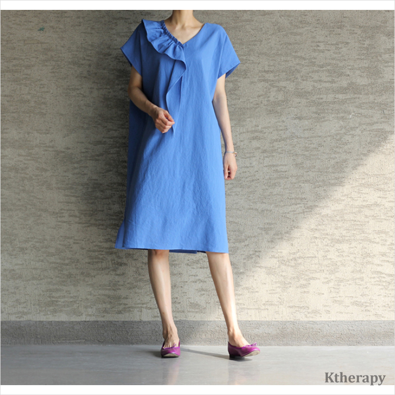 MABLE FRILL DAILY DRESS - K therapy