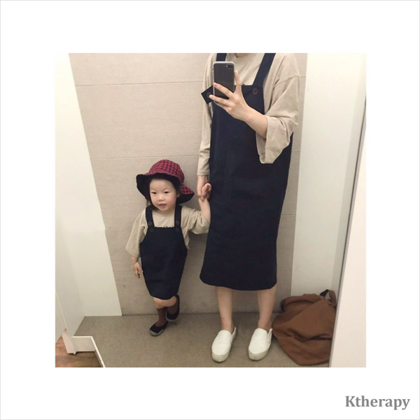 MARGARET TWINNING JUMPER SKIRT - NAVY - K therapy
