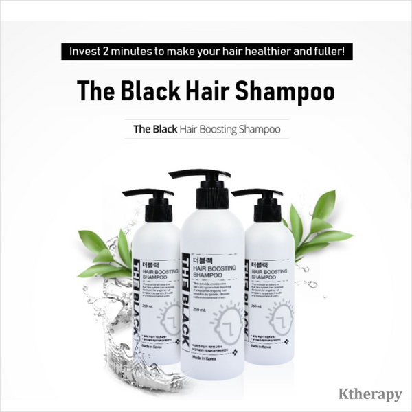 NO MORE HAIR LOSS! THE BLACK SHAMPOO - BEAUTY