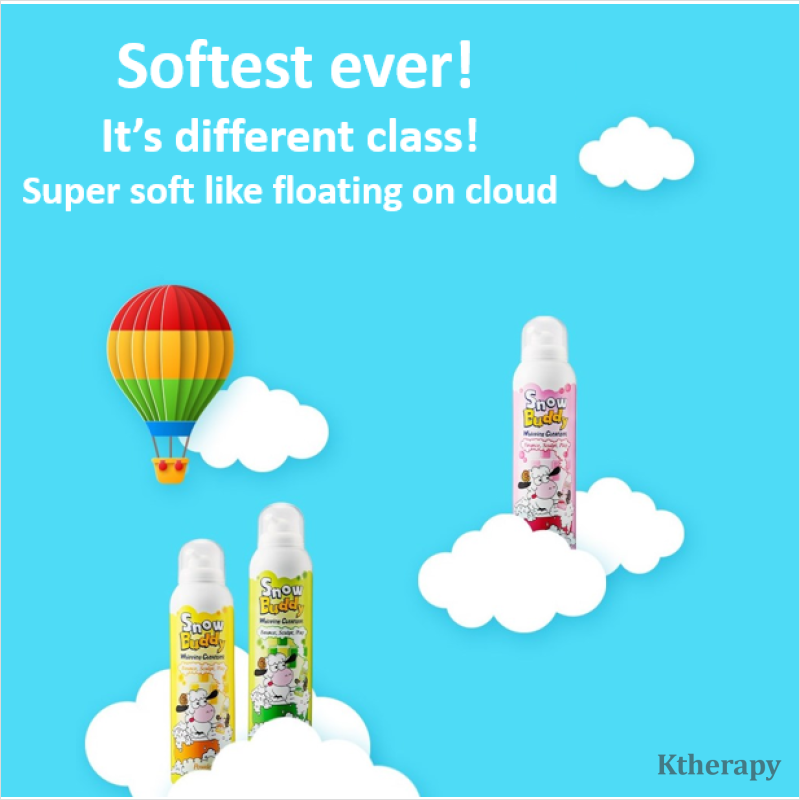 [PRE-ORDER] SNOW BUDDY - Over 1million bottles sold in Korea! Super fun Bubble time! - BEAUTY