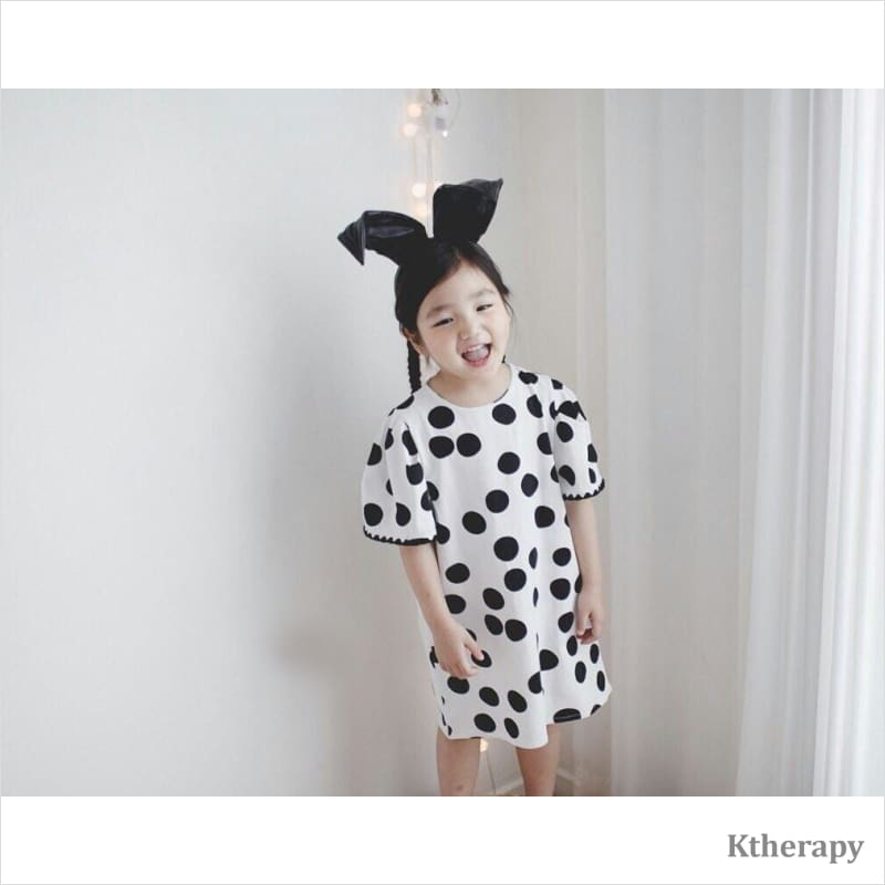 RETRO DOT DRESS - BOY & GIRL