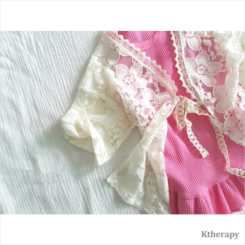 SHY LACE ROBE - BOY & GIRL