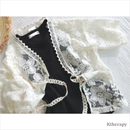 SHY LACE ROBE - K therapy
