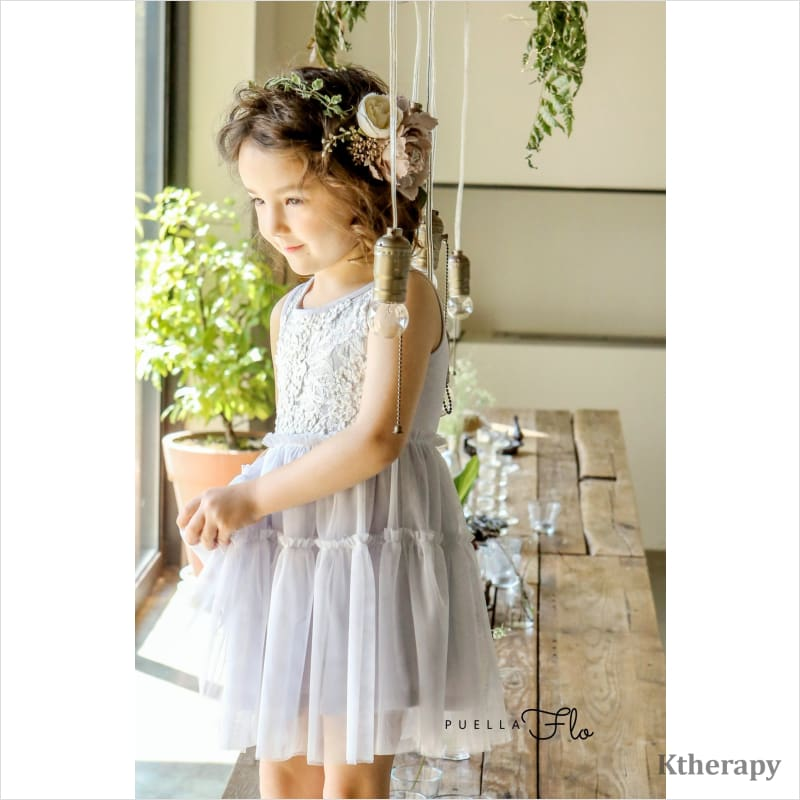STARLET DRESS - LightSteelBlue / XS - BOY & GIRL