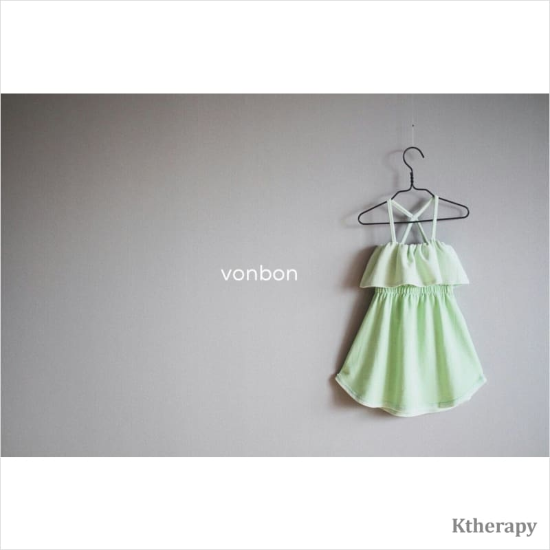SWEETIES DRESS - GREEN - K therapy