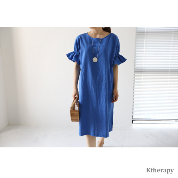 TOBIS FRILL DAILY DRESS - LADY