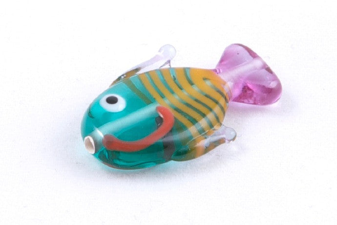 Turquoise and Purple Fish