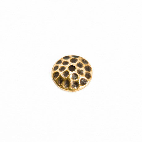 7mm Brass Bead Cap