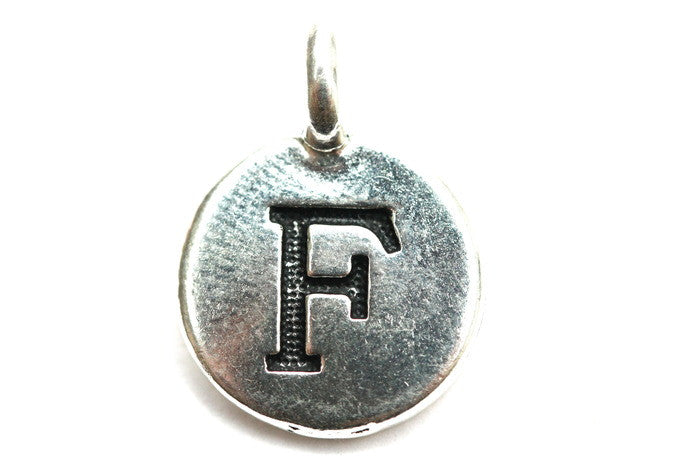 Letter 'F' Charm