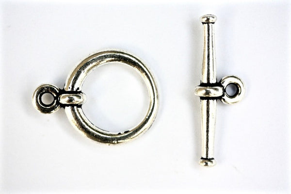 1 x Silver Tierracast Toggle Clasps