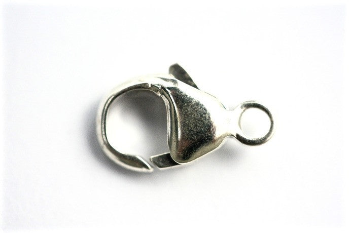 13mm Sterling Silver Lobster Clasp (1pc)