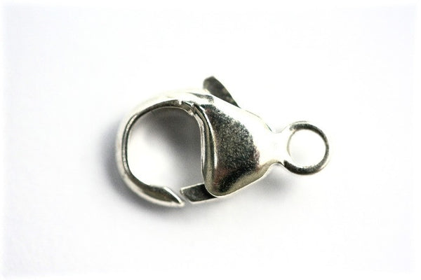 1 x 13mm Sterling Silver Lobster Clasp