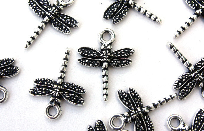 Large Silver Dragonfly