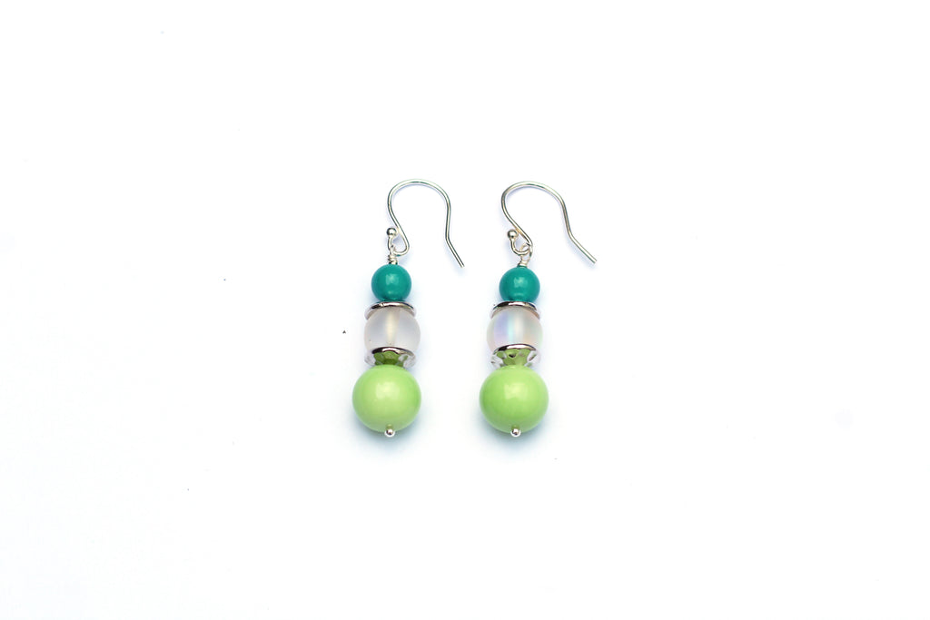 Drop Earring Jewellery Making Class at Kerrieberrie's Brighton Bead Shop