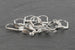 Kerrie Berrie Silver Plated Lever Back Earwires for Jewellery Making