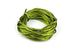 Green Silk Nylon Rattail Cord – 2mm (5m) for Jewellery Making