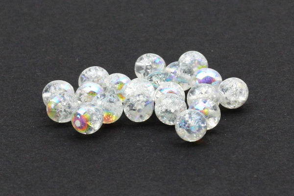 Iridescent Czech Glass Beads 5mm (20 Beads)