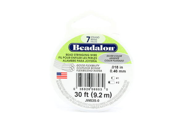Beadalon 7 Strand Tigertail Beading Wire for Jewellery Making