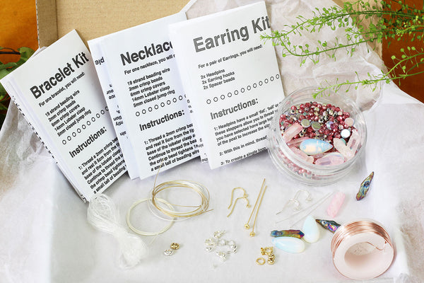 The Ultimate Jewellery Making Subscription Kit Box from Kerrie Berrie UK – The Perfect Craft Gift!