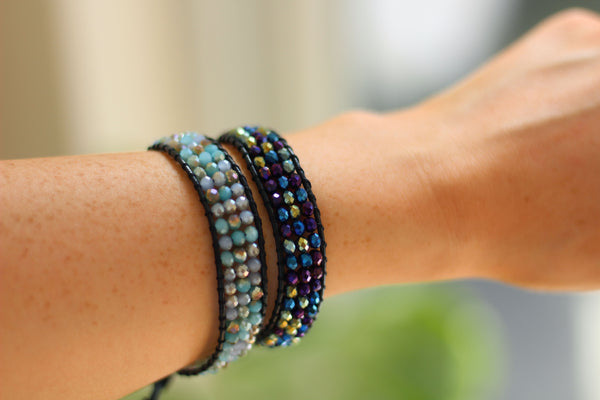 Kerrie Berrie UK Handmade Jewellery Woven Beaded Bracelets