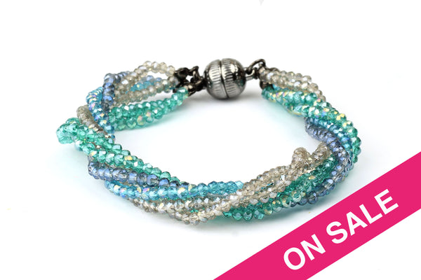 Kerrie Berrie UK Handmade Jewellery Glass Crystal Beaded Bracelets