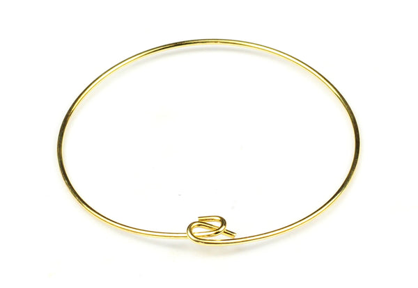 Gold-Filled Bangle Bracelet – 15cm (1pc)