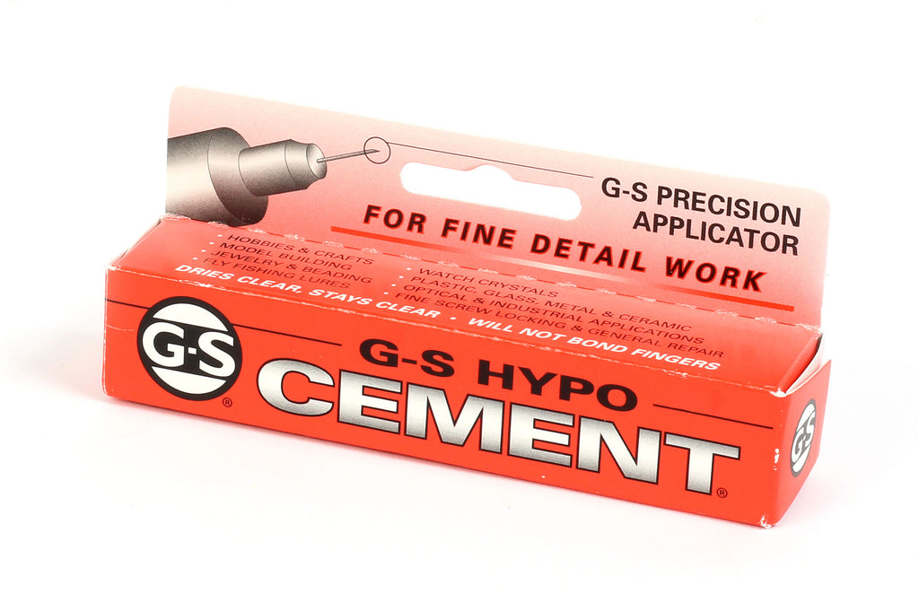 Kerrie Berrie GS Hypo Cement Glue for Jewellery Making Precision Nozzle